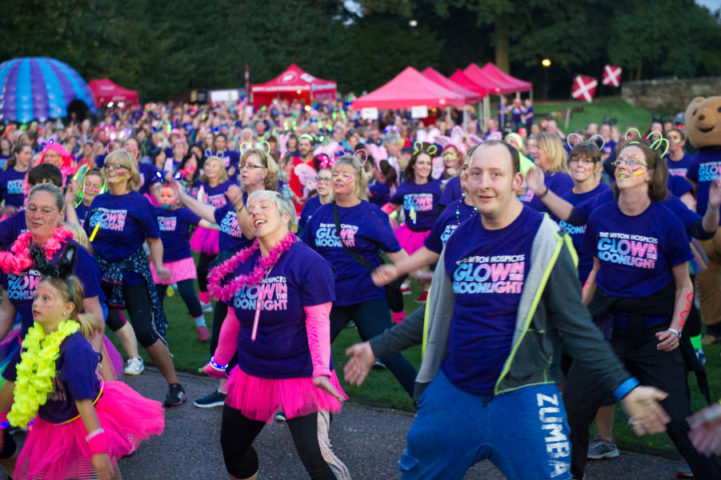 The Myton Hospices – Glow in the Moonlight Photo Gallery – Warwick Leamington Spa Coventry Rugby - Events