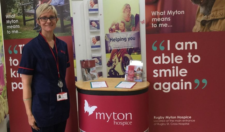 The Myton Hospices - Dying Matters Week Blog Header - Olivia