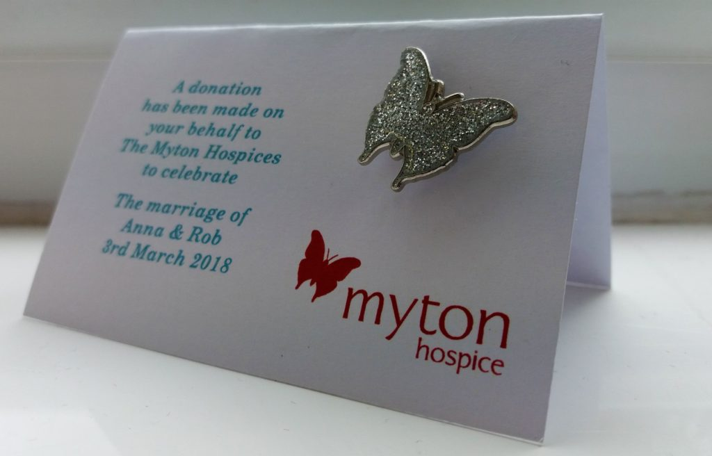 The Myton Hospices Support Us Giving In Celebration