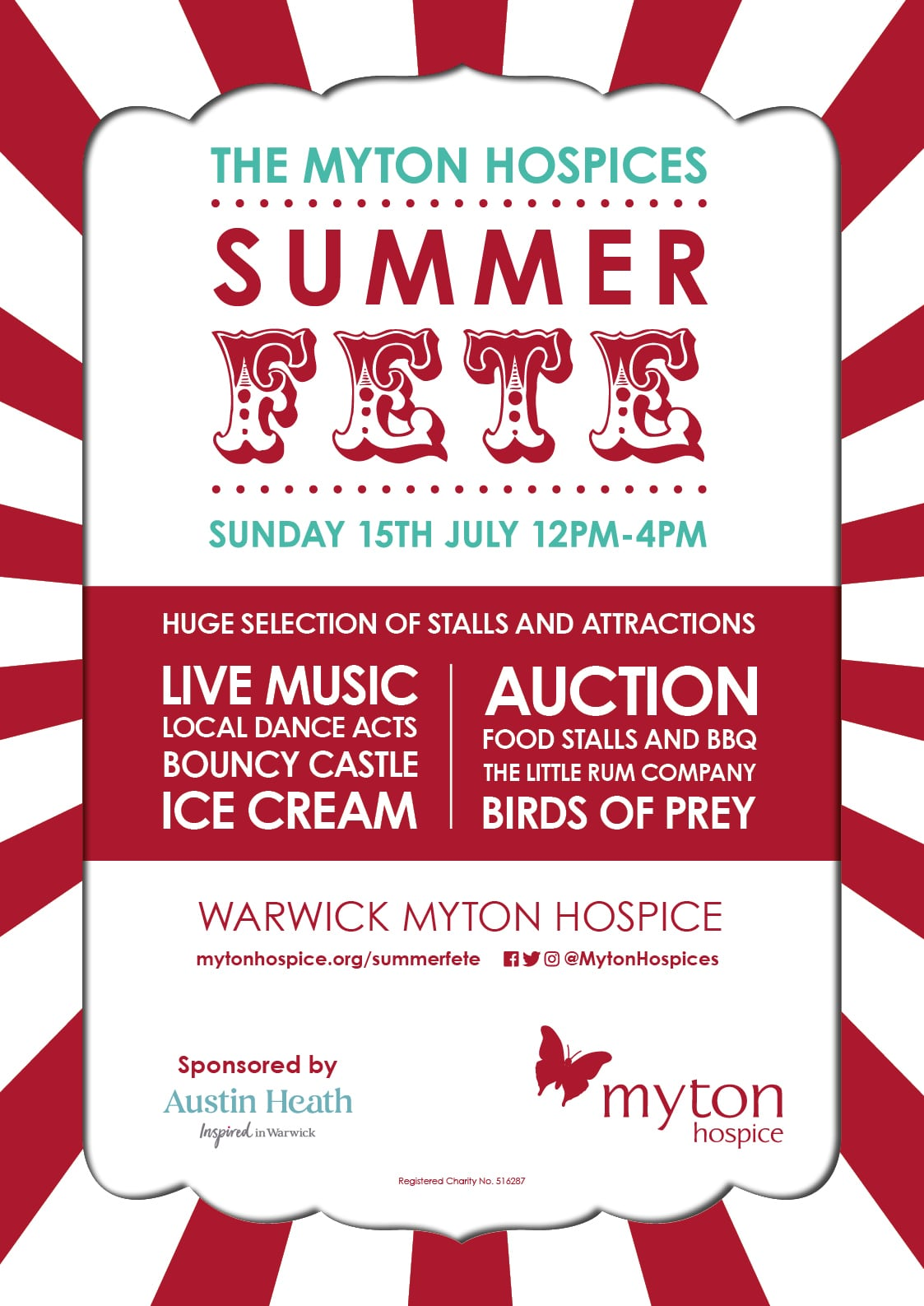 The Myton Hospices - Summer Fete 2018 Channel Image Poster