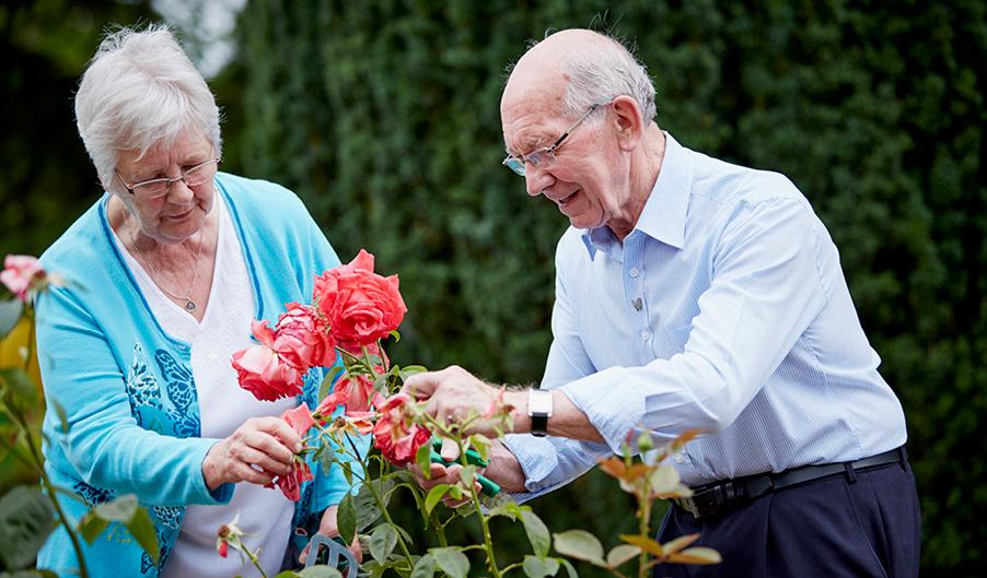 Volunteering Week - Gardening - The Myton Hospices - Volunteering - Volunteers