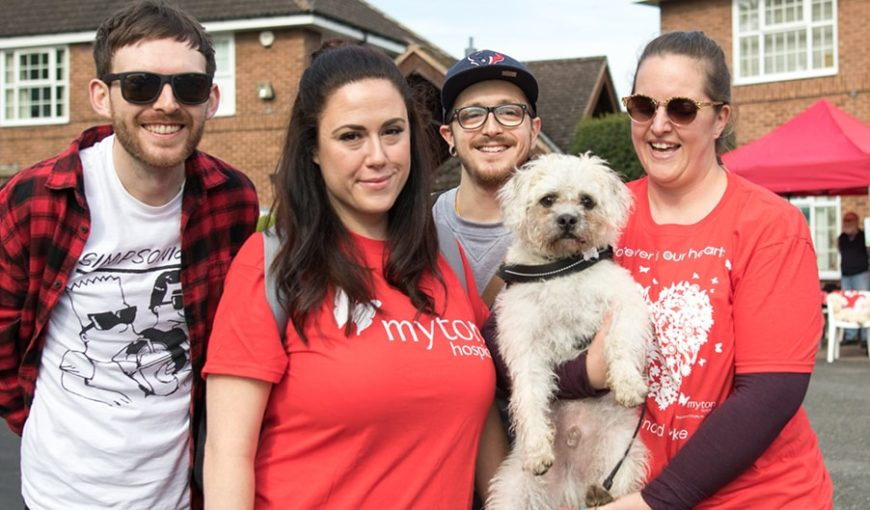 The Myton Hospices - Walk for Myton 2018 Blog Header
