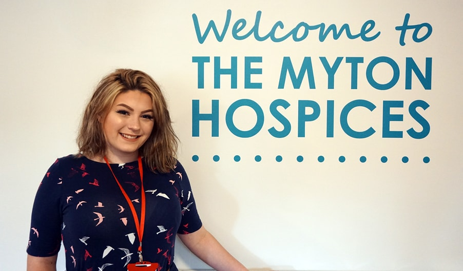 The Myton Hospices - Charlie O'Neill HR Aprentice - Warwick Coventry Rugby Leamington Spa Hospice Blog Header
