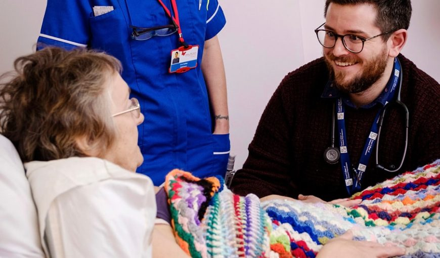 The Myton Hospices Hospice - Coventry Patient Inpatient Bed Nurse - Blog Header