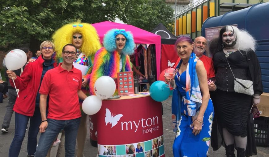 The Myton Hospices - Coventry Pride 2018 - Hospice Coventry Warwick Leamington Spa Rugby - Blog Header