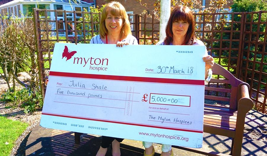 The Myton Hospices - Lottery Winner Summer Blog Header