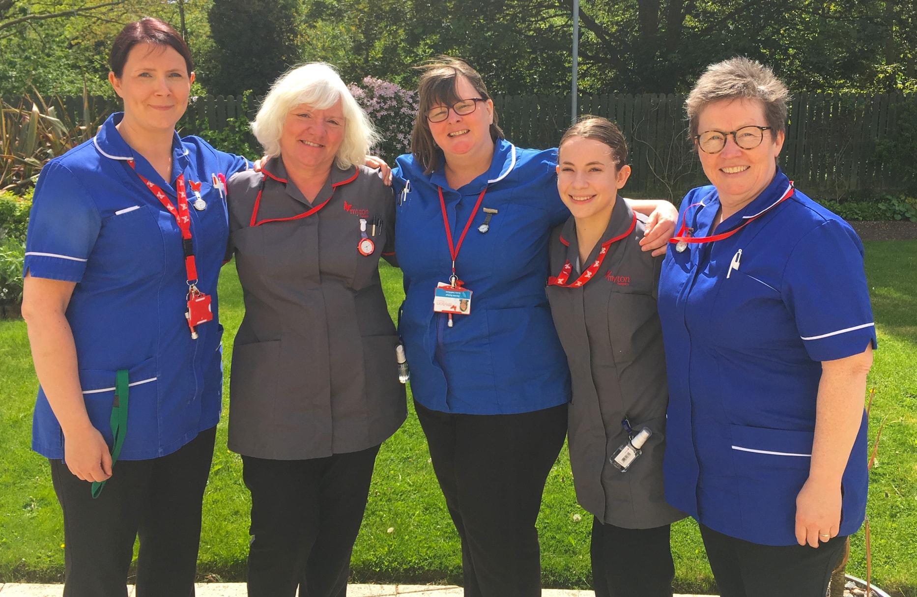 The Myton Hospices - Coventry Myton Hospice - Nurses