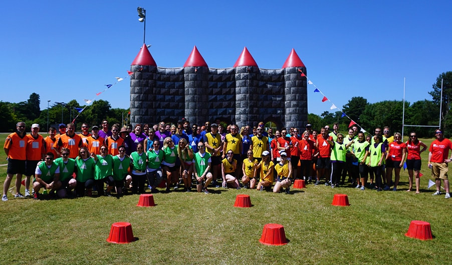 The Myton Hospices - It's a Knockout 2018 - Blog Header