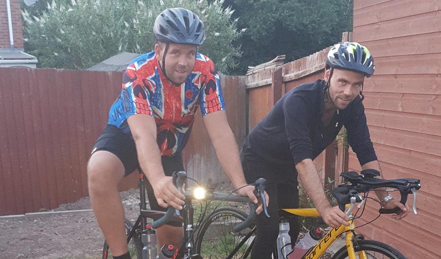 Mat and Ben Sherrington - The Myton Hospices - Fundraising - Birmingham - Triathlon