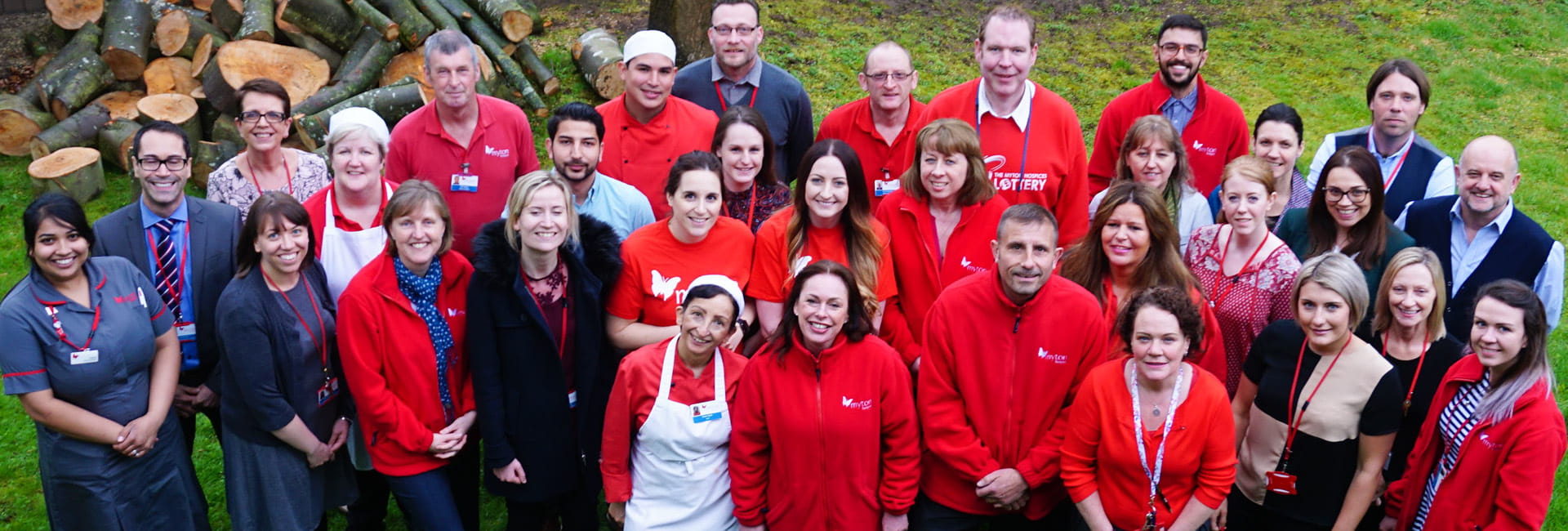 The Myton Hospices - Flex Slider - Meet the Team Warwick Group Shot