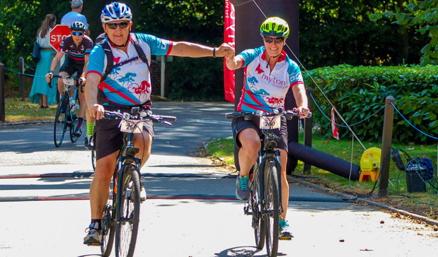 The Myton Hospices - Cycle Challenge 2018 - Blog Header - Warwick Coventry Leamington Spa Rugby