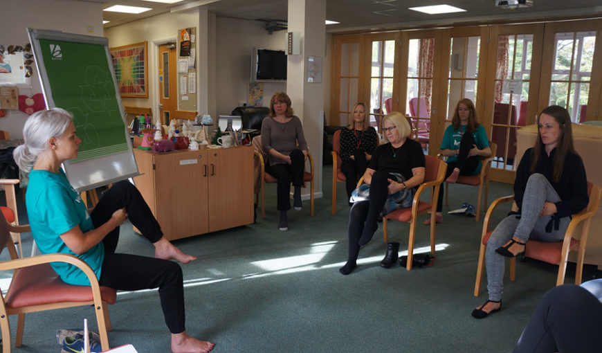 Health and Wellbeing Week 2018 - The Myton Hospices