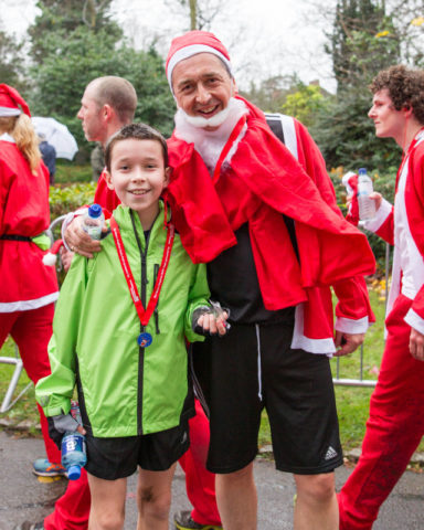 The Myton Hospices - Galleries - Santa Dash - Warwick Leamington Spa Coventry Rugby - Event Photos