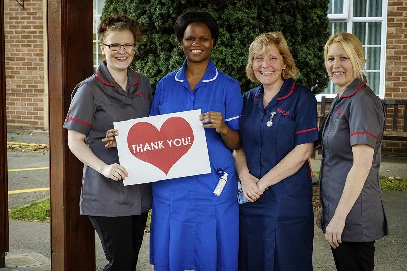 The Myton Hospices - Nurses - Thank you