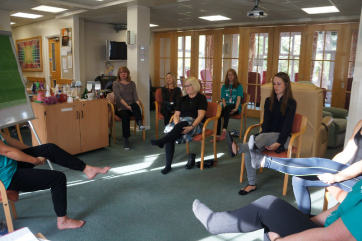 The Myton Hospices - Health and Wellbeing Week 2018