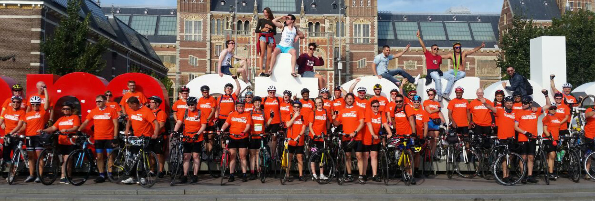 London to Amsterdam 2019 - The Myton Hospices - Challenge Event