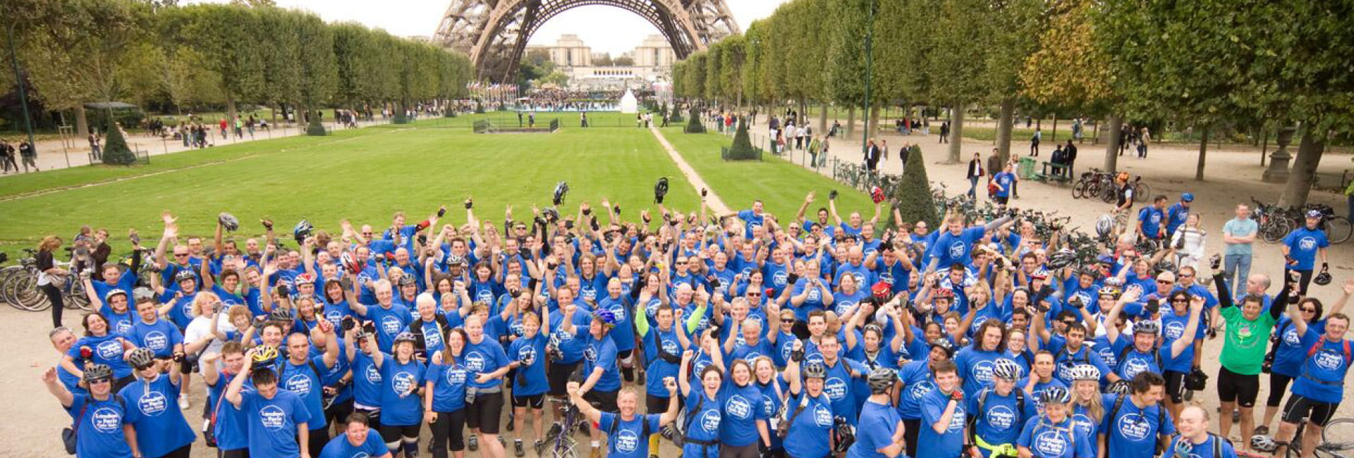 London to Paris 2019 - Challenge Event - The Myton Hospices