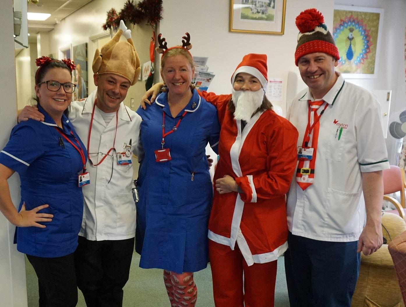 The Myton Hospices - Christmas Day Hospice Blog image
