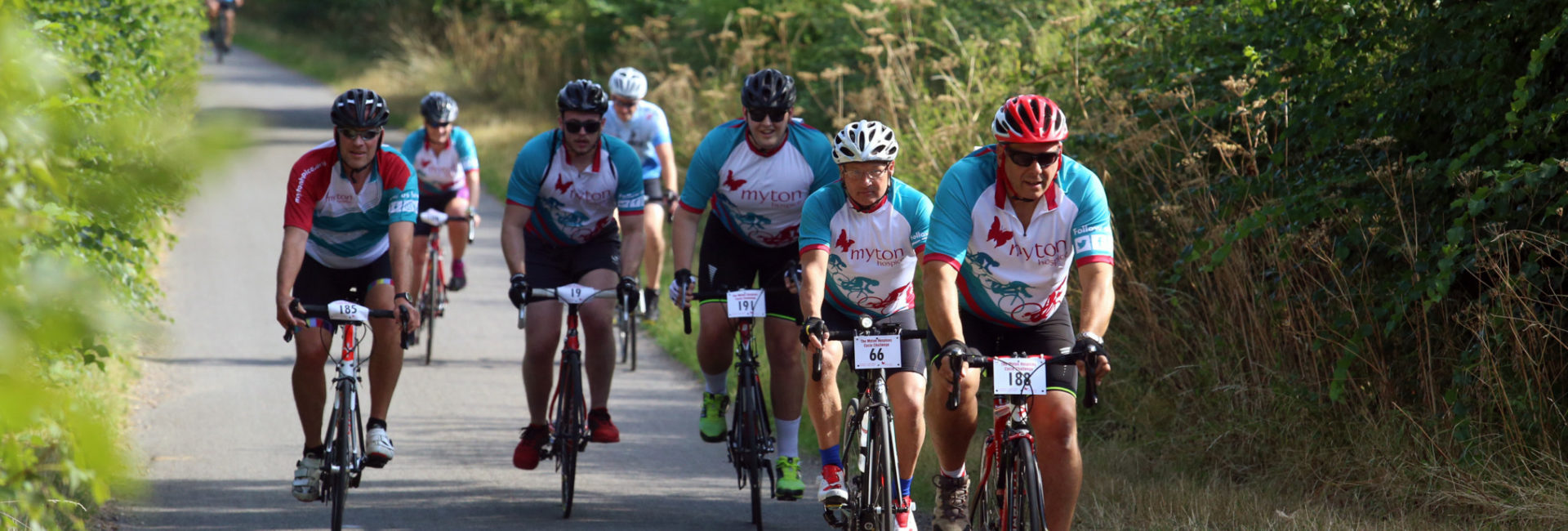 The Myton Hospices Cycle Challenge 2019 - Flex Slider