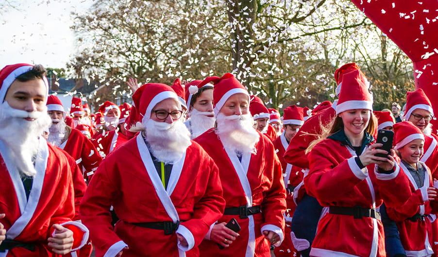 Santa Dash - The Myton Hospices - Event