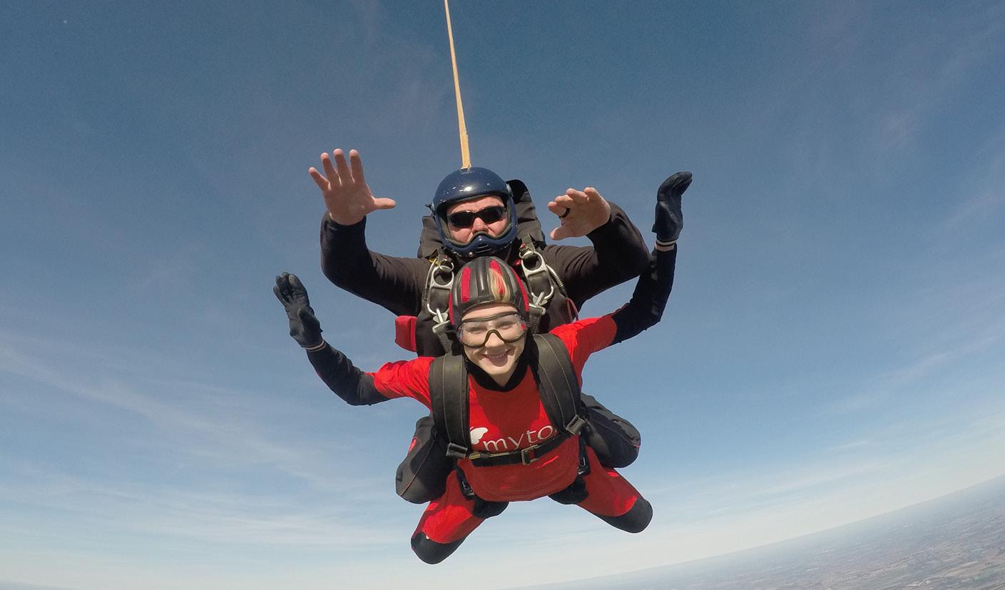 Skydive - Emilia - Nayana - The Myton Hospices
