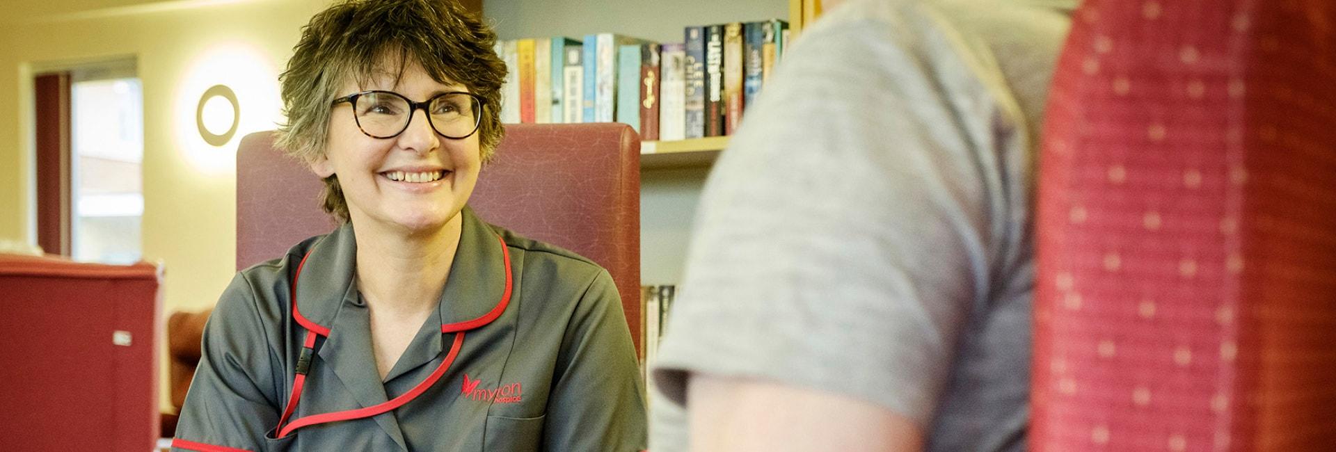 The Myton Hospices - Coventry Nurse - Flex Slider
