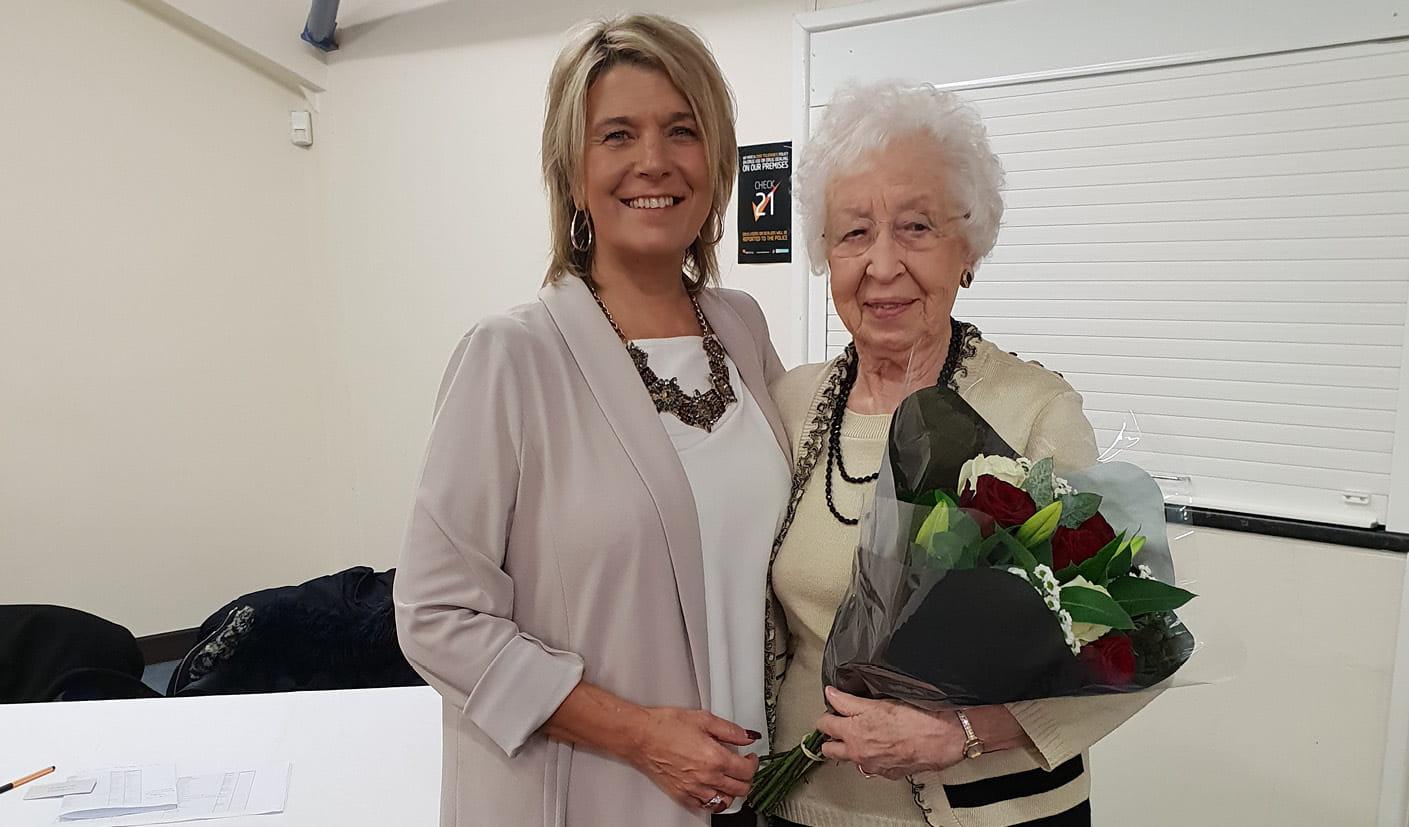 Long Serivce Awards 2018 - Volunteers - The Myton Hospices - Valary Ormerod