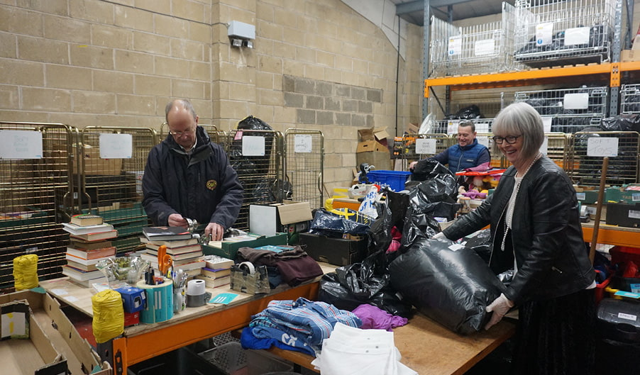Marie Kondo - The Myton Hospices - Distribution Centre - Tidying Up