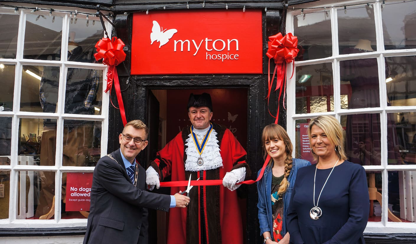 Retail - The Myton Hospices - Job Vacancy - Charity