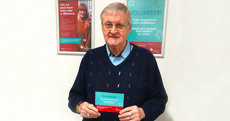 Ken - Volunteering - The Myton Hospices - Retail