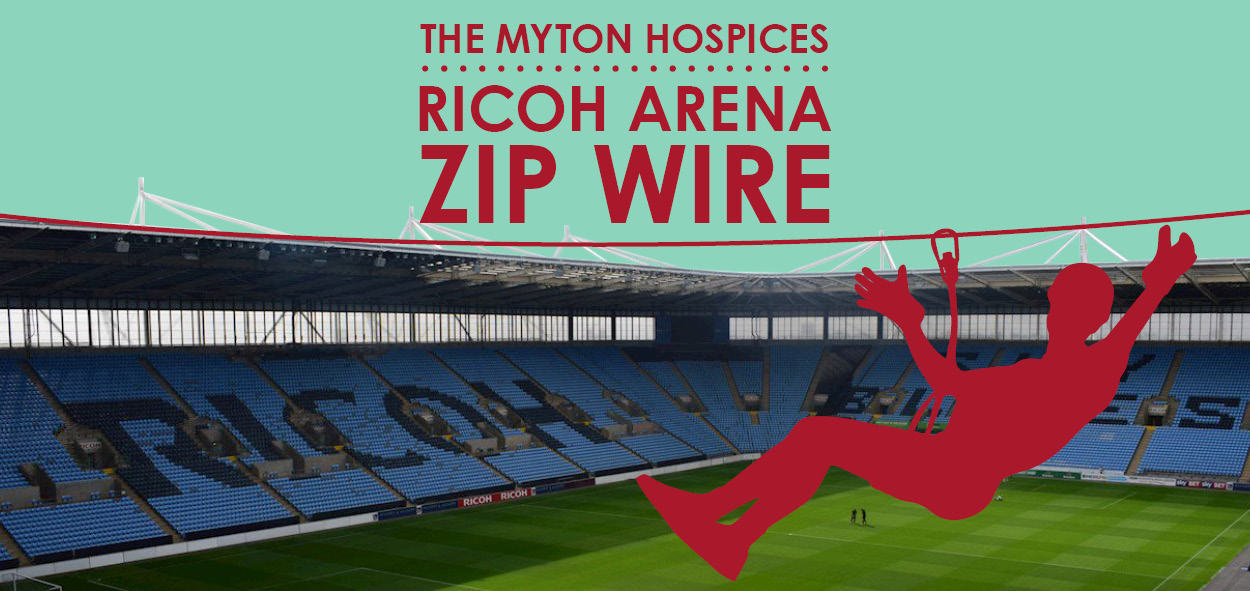 The Myton Hospices - Zip Wire 2019 - Mid Page Banner - Warwick - Coventry -Leamington Spa - Rugby