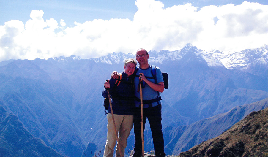 Barbara Smith - Great Wall of China trek - The Myton Hospices