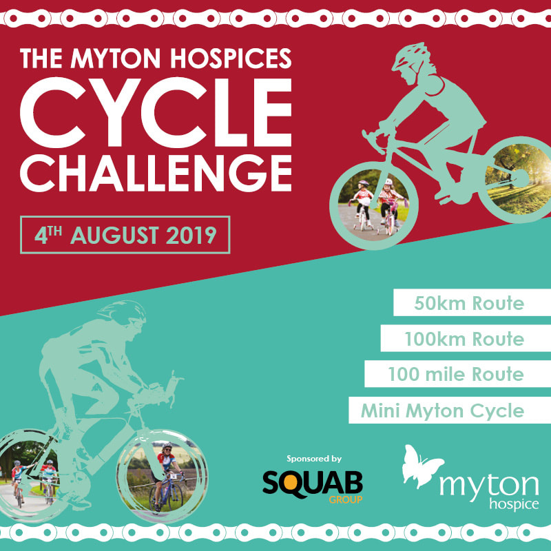 Cycle Challenge 2019 - The Myton Hospices - Event - Fundraising - Cycling