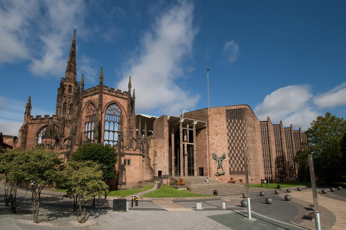 The Myton Hospices - The Butterfly Effect - Coventry cathedral