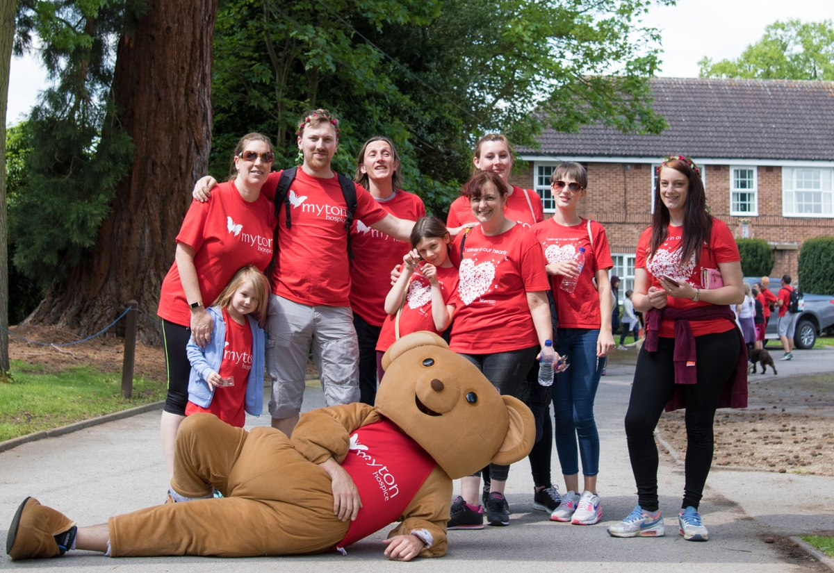 The Myton Hospices - Walk for Myton 2019