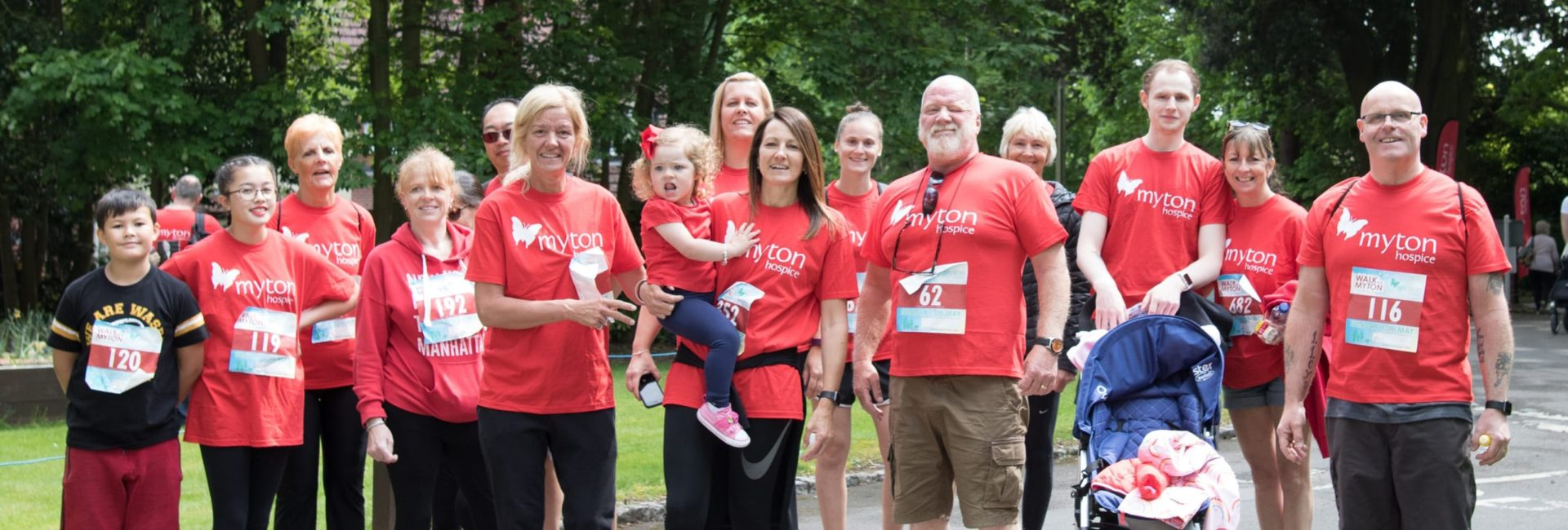 The Myton Hospices - Walk for Myton 2019 - Flex Slider