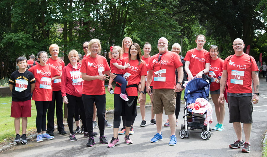 Walk for Myton - The Myton Hospices - Event - Fundraising