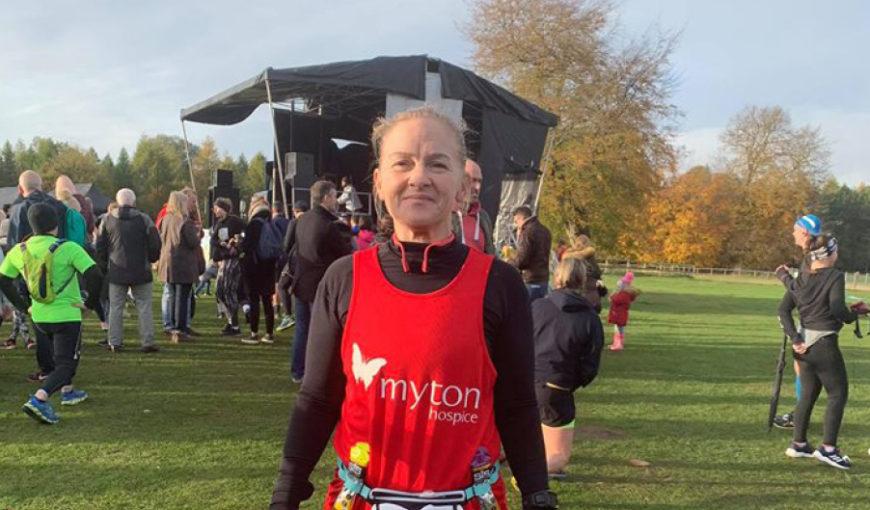 Julie Smith - The Myton Hospice - London Marathon - Fundraising