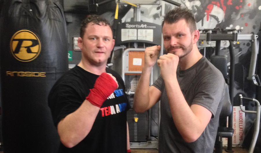 Tom Curley - Warwick - The Myton Hospices - Zoe's Place Baby Hospice - boxing match
