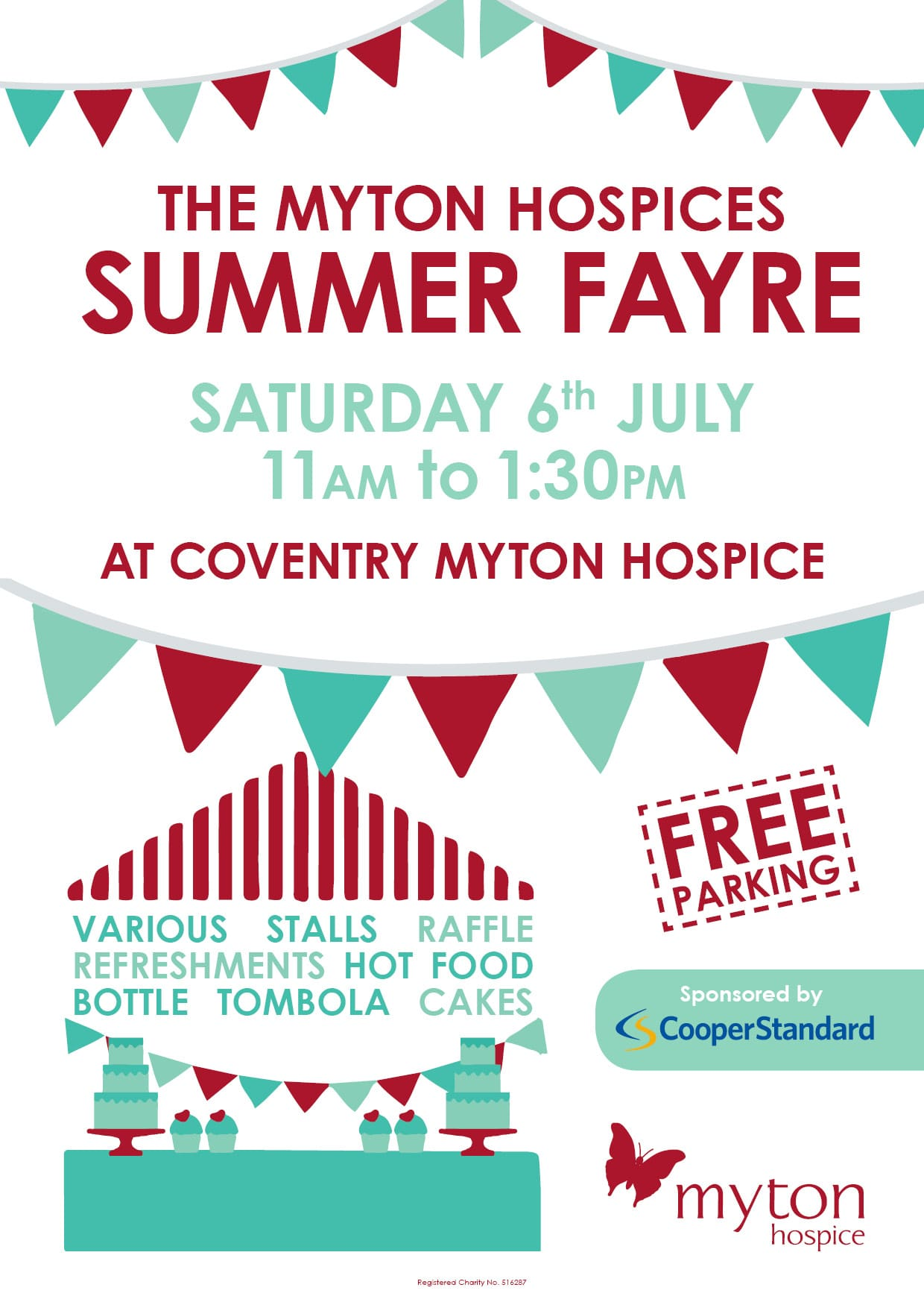 Coventry Summer Fayre - Warwickshire - Tombola - BBQ - Community Event - Fundraising