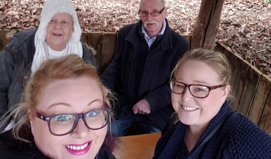 The Myton Hospices - Mandy Kinsey and Family - People's Stroies