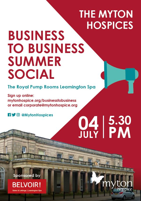 The Myton Hospices - Business to Business Summer Social