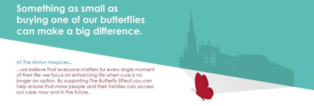 The Myton Hospices - The Butterfly Effect - Sliders