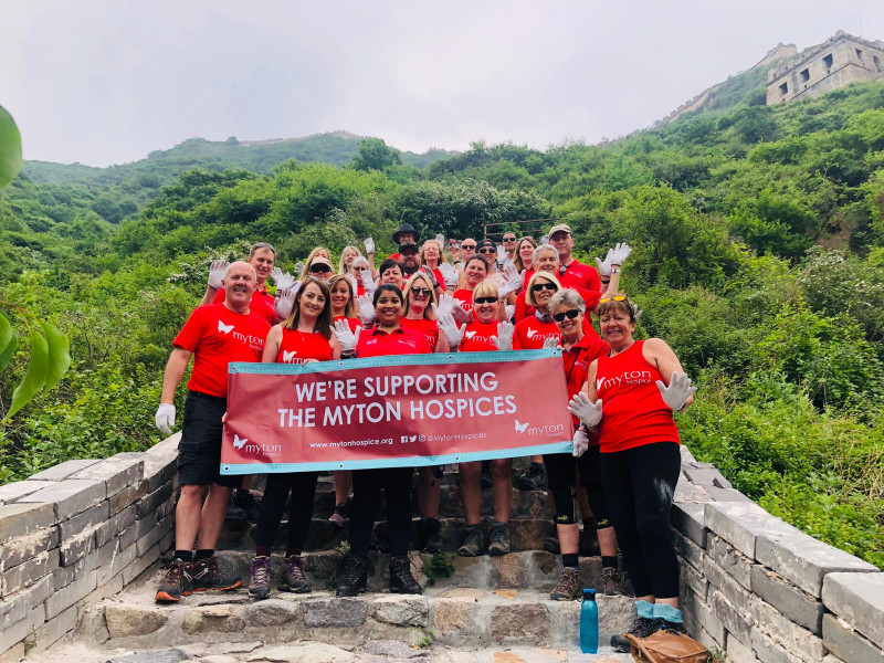 The Myton Hospices - Great Wall of China Trek - Fundraising - Event - China - Overseas