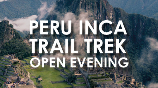 The Myton Hospices - Peru Inca Trail Trek Open Evening Channel Image