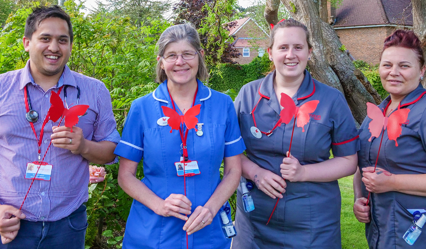 The Myton Hospices - The Butterfly Effect Blog Header