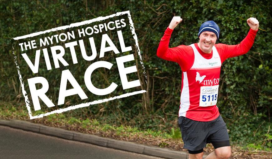 Virtual Race 2019 - The Myton Hospices - Summer - Fundraising