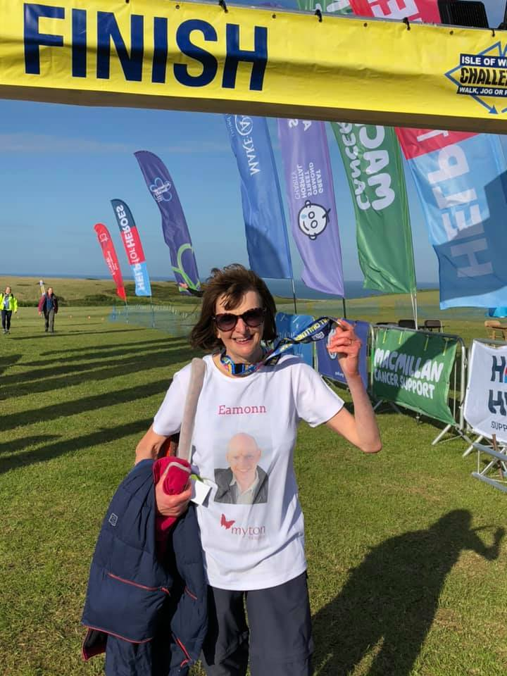 Jackie O'Neill - The Myton Hospices - Isle of Wight Ultra Challenge