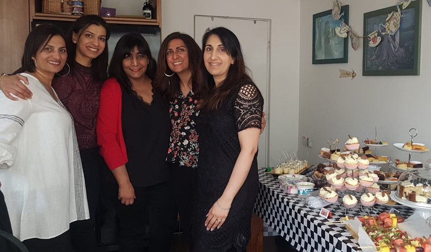 Afternoon Tea Party - Charnjit Bains - The Myton Hospices - Warwickshire