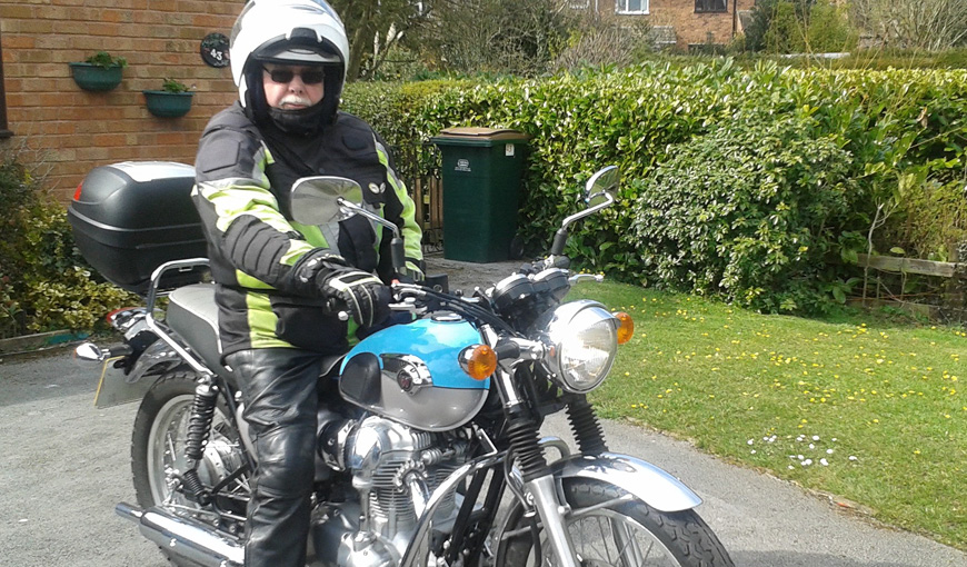 TheMyton Hospices - David Wall Motorbike - People's Stories